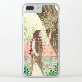 Frigg's garden Clear iPhone Case