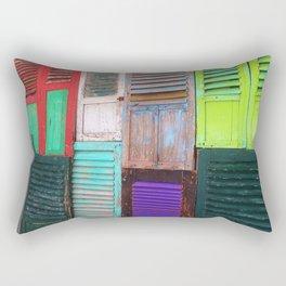 Colors and shutters Rectangular Pillow
