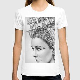 Elizabeth Taylor Cleopatra Portrait T-shirt