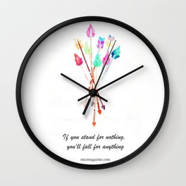 Arrows collection Wall Clock