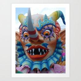 Father Carnival Art Print
