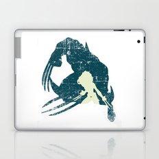 Superheroes minimalist - Wombat Laptop & iPad Skin