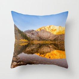 Convict Lake Reflection Throw Pillow