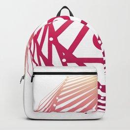 Radiant Abundance (white-sunrise) Backpack