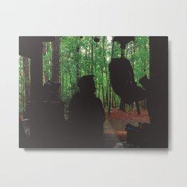 Waiting Out The Rain • Appalachian Trail Metal Print