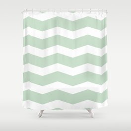 GG Waves Shower Curtain
