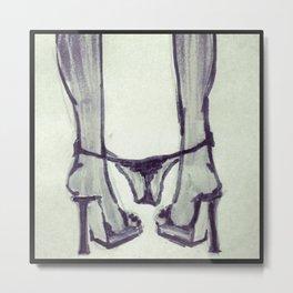 Panty Dropper Metal Print