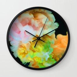 Color Fluff (Color) Wall Clock