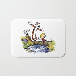 calvin and hobbes 03 [TW] Bath Mat