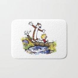 calvin and hobbes 03 [TW] Bath Mat