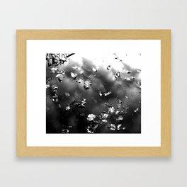 Silver. Framed Art Print
