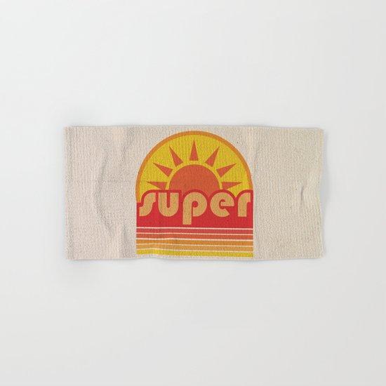 super duper Hand & Bath Towel