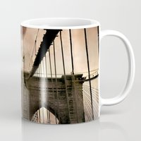 bridge Mugs featuring Bridge by Daniela Battaglioli