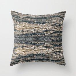 Surface Texture Print Throw Pillow