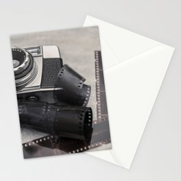 Vintage Camera and Film Stationery Cards