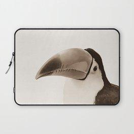 Toucan Do It! - sepia Laptop Sleeve