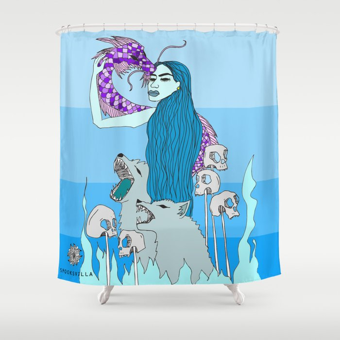 Cold Witch Shower Curtain