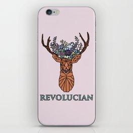 Revolucian - Lucy Cavendish College iPhone Skin
