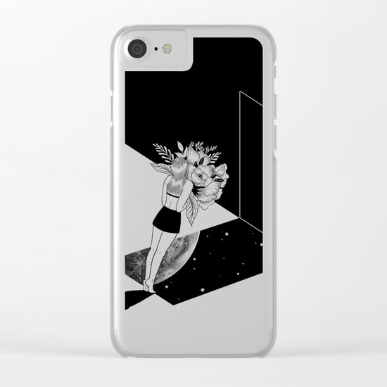 Escape from Reality Clear iPhone Case