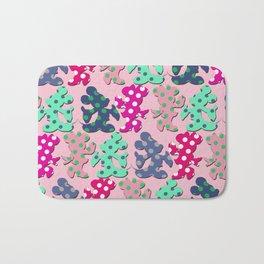 Mickey and Minnie pattern Bath Mat
