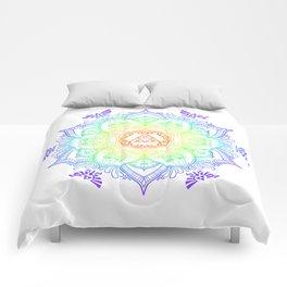Rainbow Zelda Mandala Comforters