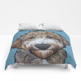 Seamus the Labradoodle Comforters