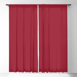 Chili Pepper | Pantone Fashion Color | Fall : Winter 2019-2020 | New York | Solid Color | Blackout Curtain