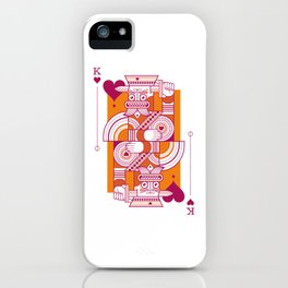 Delirium King of Hearts iPhone Case