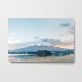 Mountain Fuji Metal Print
