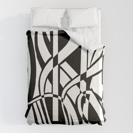 smoothed confusion Duvet Cover