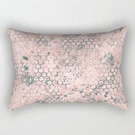 Blush Odyssey Rectangular Pillow