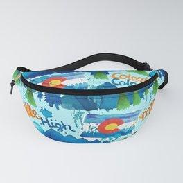 Watercolorado Fanny Pack