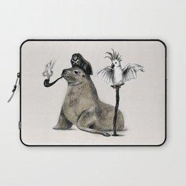Pirate // seal parrot Laptop Sleeve