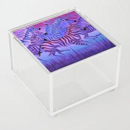 Flying above the sky. Acrylic Box