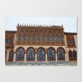 Architecture of Ca'D'Zan -House of John Ringling II Canvas Print