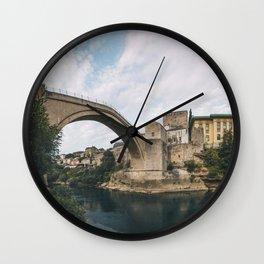 Mostar, Bosnia and Herzegovina Wall Clock