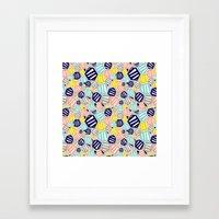 hexagon Framed Art Prints featuring Hexagon by Rachel Westhead
