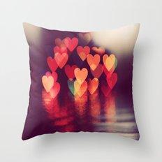 Love LIGHTS Throw Pillow
