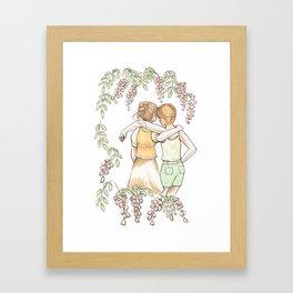 Acacia - Friendship Framed Art Print