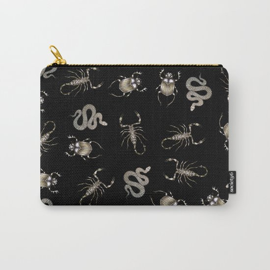 Desert Curses in Black Carry-All Pouch