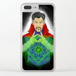 Dr. Strange Time Spell Fan art Clear iPhone Case