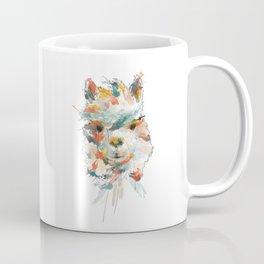 + Watercolor Alpaca + Coffee Mug