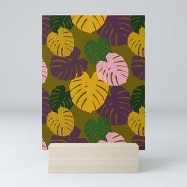 Tropical Palm Leaves Mini Art Print