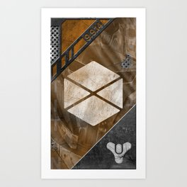The Titan Art Print