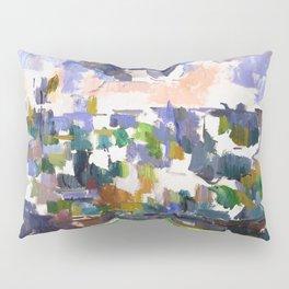 1906 - Paul Cezanne - The Garden at Les Lauves Pillow Sham