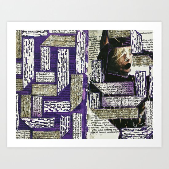 Purple It Art Print