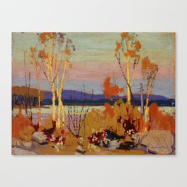 Tom Thomson Birches 1916 Canadian Landscape Artist Canvas Print