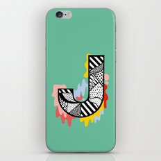 J for ... iPhone Skin