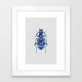 Blue Beetle II Framed Art Print