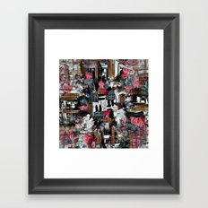 Sunday 17 February 2013: curious unto limitless temporality Framed Art Print